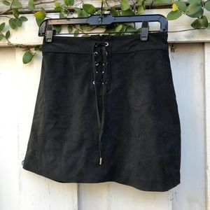 Abercrombie and Fitch lace up skirt